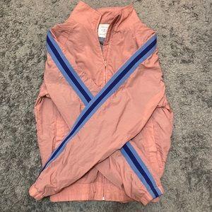 Urban Outfitters Men's Pink Windbreaker